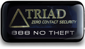 Triad zero contact security alarm system